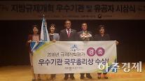 [포토] 행정자치부 주관 '2016년 지방규제개혁 평가' 세종시, 우수 지자체 선정