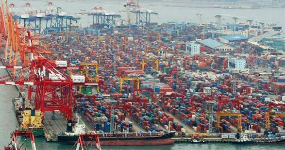 韩对外出口增势显著 金融研究院上调今年经济预期至2.8%