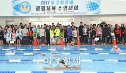 울산 동구청장배 생활체육 수영대회