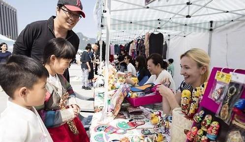 首尔将办外国人跳蚤市场