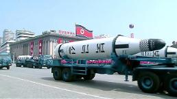 .New barge for suspected SLBM test spotted at N. Korea port: 38 North.