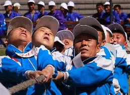 .[GLOBAL PHOTO] N. Korean workers celebrate Labor Day.