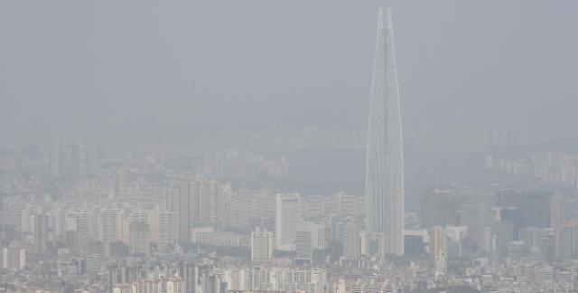韩5月黄金周雾霾袭城 经济受拖累