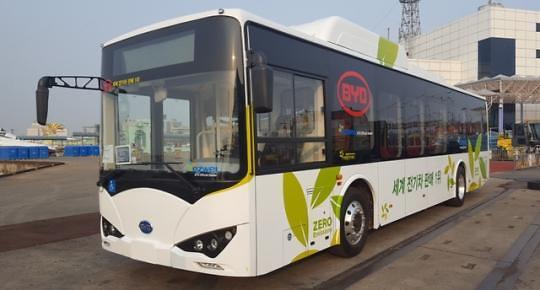比亚迪现代引领公共汽车革命 韩国有望迎来公交电动时代