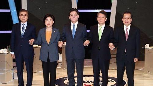 <2017年总统大选>韩总统大选结果预计于9日晚11时许轮廓初现