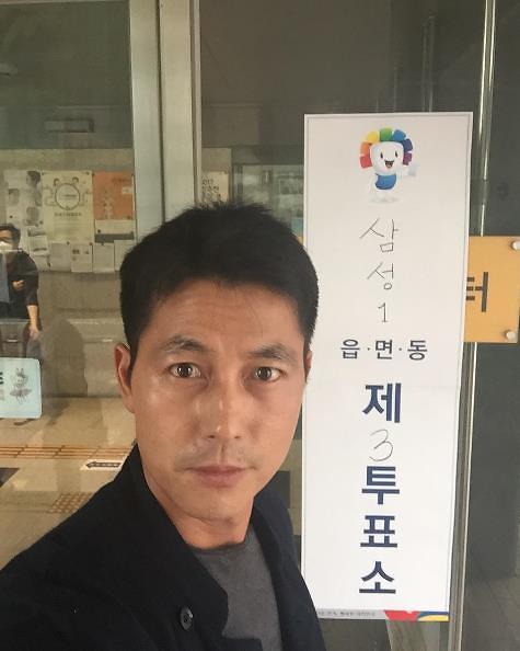 <2017年总统大选>韩众星积极参政SNS大晒大选投票照