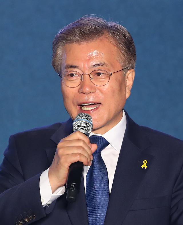 <2017年总统大选>韩第19任总统文在寅任期正式开始