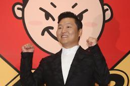 .PSY出席新专辑发布会.