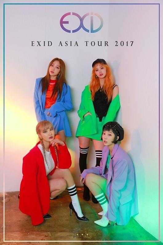 EXID下月开展首场亚洲巡演 首站中国香港