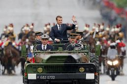 .[GLOBAL PHOTO] Emmanuel Macron inaugurated as new French President  .