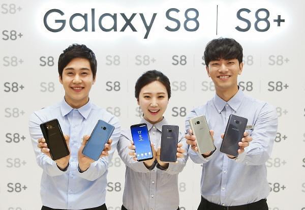 三星Galaxy S8系列手机全球销量突破500万部