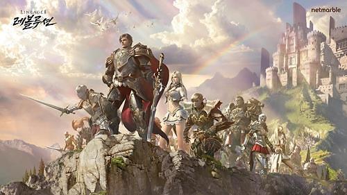 韩手游《天堂2:革命》亚洲预售量破百万份