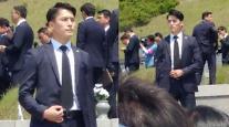 최영재 경호원 인기 위협하는 경호원 나타났다? '배우같은 외모+수트핏까지'