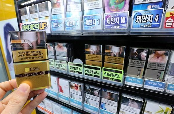 警示图片也挡不住烟瘾的诱惑 韩烟草销量止跌回升