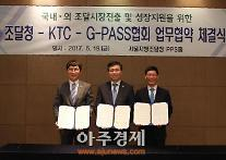 調達庁、輸出研究員・ G-PASS企業協会と調達企業海外輸出支援MOU締結