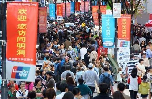 报告:若萨德问题持续 韩旅游业损失将达15万亿韩元