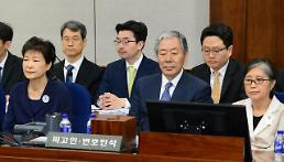 .朴槿惠首次出庭受审 全盘否认检方指控.