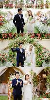 俳優チョ・ソンユン&女優ユン・ソイ、結婚式写真公開