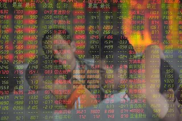 [중국증시] '금융·부동산주 강세'  3100선 회복한 상하이종합