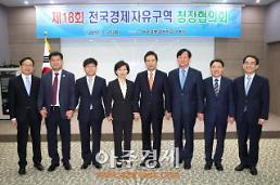 전국 경제자유구역 청장협의회, 안동에서 개최