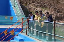 이준원 농식품부차관, 충남지역 항구적 가뭄대책 사업지구 점검