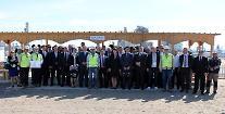 현대엔지니어링 투르크 현장에 글로벌 석유화학업계 방문