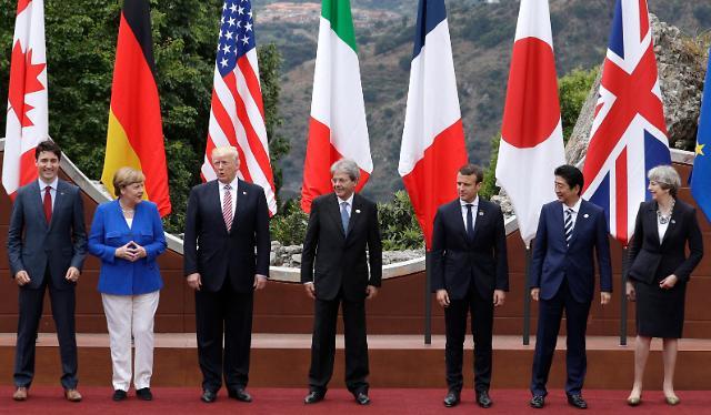 韩外交部欢迎G7峰会通过谴责朝核联合公报