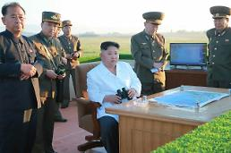 .N. Korea test-fires ballistic missile into sea.