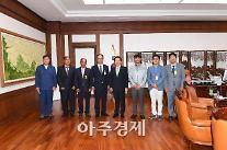 오규석 기장군수·기장멸치축제추진위, 정세균 국회의장 감사인사