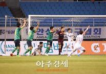 안산 그리너스FC 서울 이랜드 아쉬운 패배