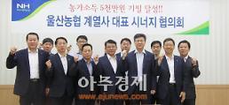 울산농협, 계열사협력·시너지 창출 논의