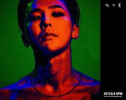 .G-DRAGON to come back solo next week.