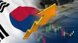 .韩国经济迎春天 一季度增幅OECD成员国中排第6位.