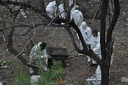 [GLOBAL PHOTO] Mexico Forensic experts unearth skeletal remains