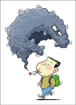 """韩青少年首次吸烟年龄为12.7周岁 """"禁烟""""应从娃娃抓起"""
