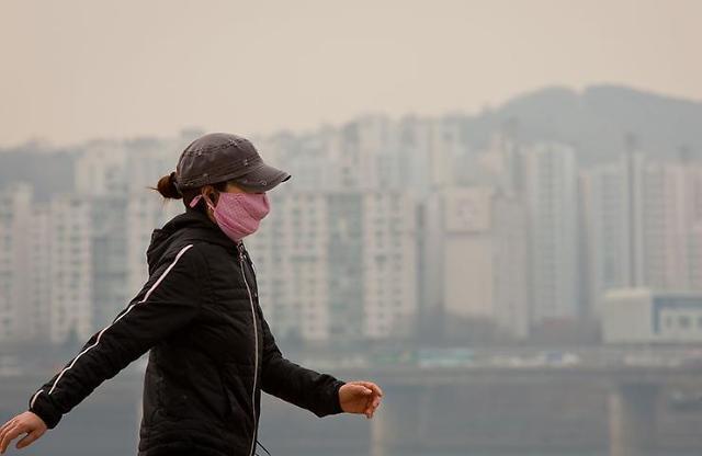 雾霾当空! 逾八成韩国人感到生活不便