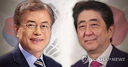 .安倍会韩国会议长 称愿共建面向未来的韩日关系.