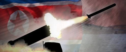 朝鲜成功试射新型地对舰巡航导弹命中目标靶船