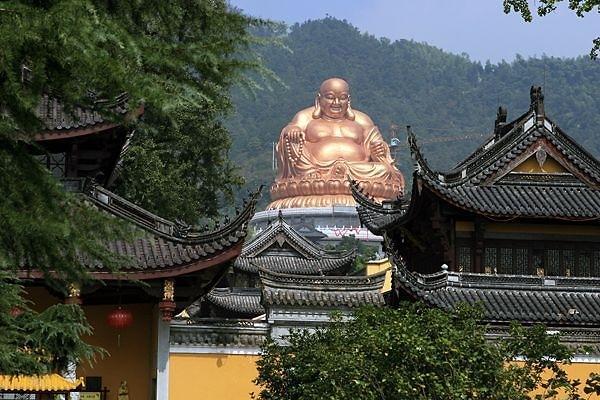 中国佛教五大名山之奉化雪窦山