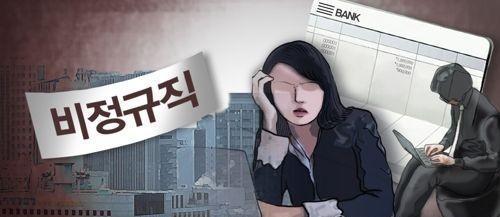 调查:韩六成求职者愿从事临时工岗位