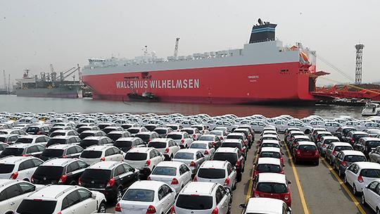 韩产汽车5月出口增逾2% 连续4个月呈增势