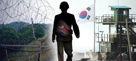 朝鲜一军人越过军事分界线南下归顺韩国