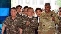 문재인 대통령 첫 한미정상회담… 한미동맹 재확인· 사드·대북정책·FTA 논의
