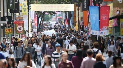 韩国总人口5173万 女多男少加剧