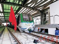 [인민화보]중국기업의 베트남 경전철 건설