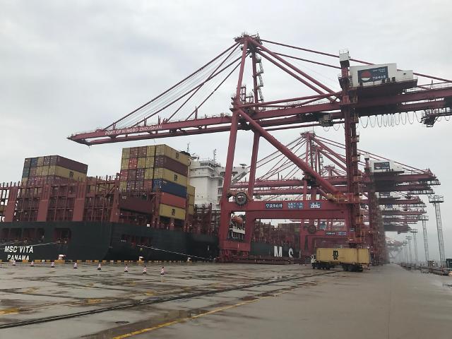 [AJU VIDEO] 全球第一大港——宁波舟山港繁忙的码头景象