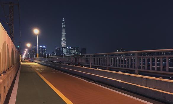 [AJU VIDEO] 蚕室铁桥环视