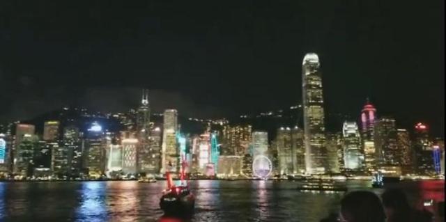 [AJU VIDEO] 美到窒息的香港维多利亚港夜景