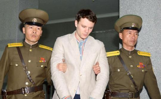 被朝鲜释放的美国学生瓦姆比尔已死亡