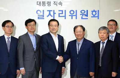 한 자리 모인 이용섭-박병원